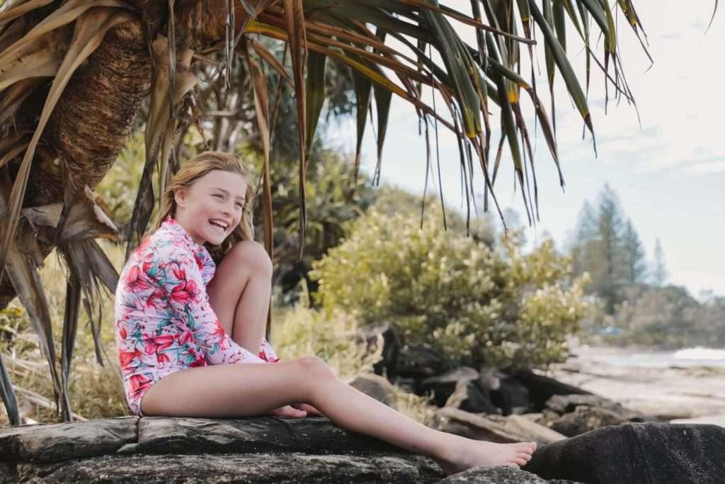 Kiki Long sleeve one-piece swimwear