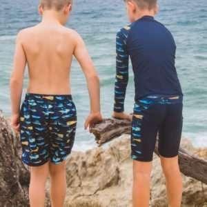 Boys Pelagic Long Sleeve Rashie